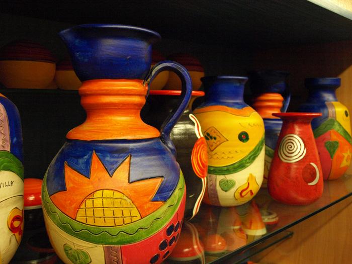 Cer mica triana cer micas art stica azulejos sevilla - Cocinar en sartenes de ceramica ...