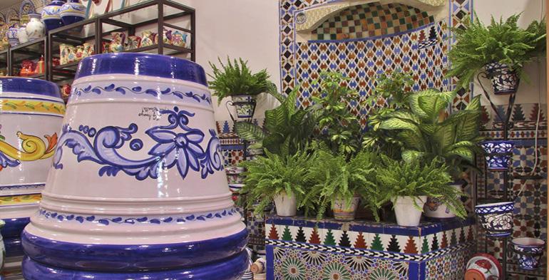 Cer mica triana cer micas art stica azulejos sevilla for Azulejos antiguos sevilla